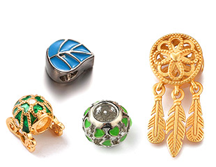 Metal European Beads Up To 50% OFF