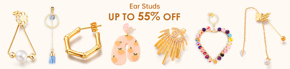 Ear Studs UP To 55% OFF