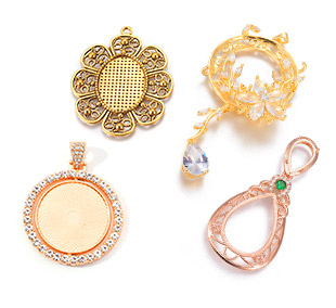 Pendant Cabochon Settings UP To 50% OFF
